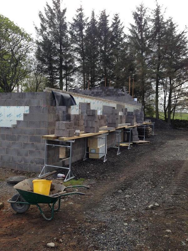 External Walls on New Build