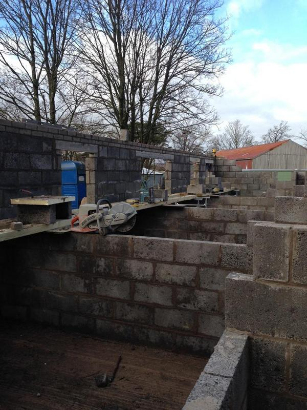 Internal Walls on a new build