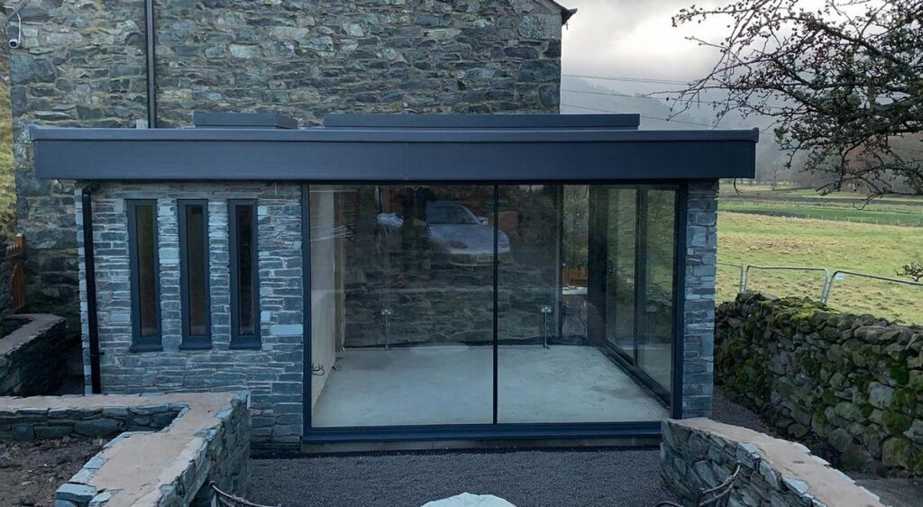 Keswick Conservatory in traditional stone